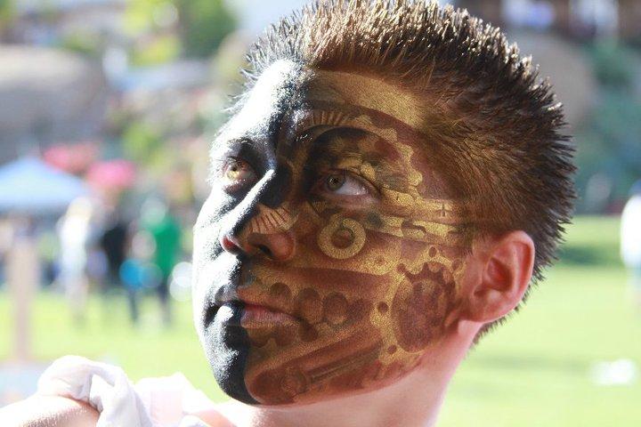 Gear Face paint